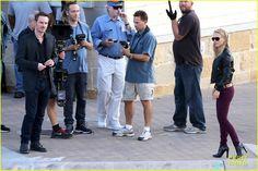 Natalie Portman: Sheer 'Untitled Malick Project' Filming!