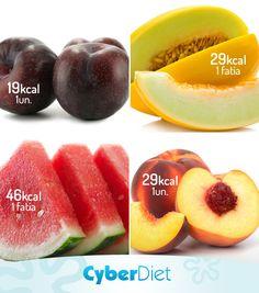 Conheça 4 frutas ideais para quem está de dieta, são as que tem pouquíssimas calorias! http://maisequilibrio.com.br/nutricao/frutas-uma-boa-ideia-para-o-verao-2-1-1-225.html