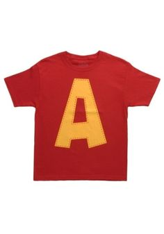Your child might sing about how much he wants a hula hoop for Christmas after putting on this Kids Alvin A Costume T-Shirt. He also might have to run from some guy named Dave Seville.
