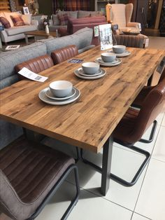 Next Bronx Dining Room Table 6 8 Seater