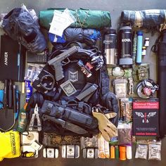 """391 Likes, 23 Comments - Fight or Flight Survival Gear (@survivor_town) on Instagram: """"My bug out bag load out with new Fight or Flight 72 pack. Need help getting prepared? Here are some…"""""""