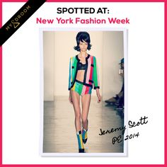 Jeremy Scott, New York Fashion Week, PE 2014