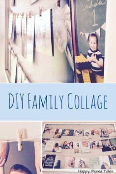 DIY Family Photo Frame