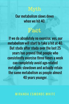 Aging Backwards - Myths and Facts - Metabolism - Classical Stretch with Miranda Esmonde-White