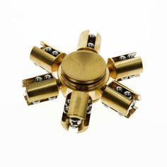 Brass 606 Hybrid Si3N4 Ceramic Bearing Fidget Spinner EDC Toy(M17115)