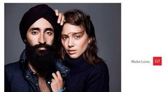 Gap 2013 - featured Waris Ahluwalia, a Sikh model, actor, and jewelry designer in an ad image, which was met with racist reactions. Gap responded in the most amazing way possible. via StyleListCanada