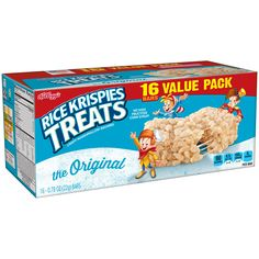 Rice Krispies Treats Bars, The Original, 0.78 Ounce Bars, 16 Count