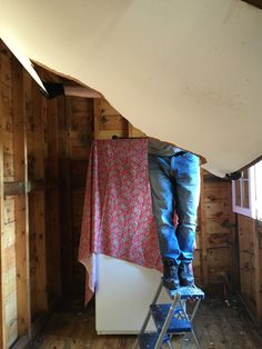 Ceiling coming down Laundry Room, Ceiling, Fashion, Moda, Fashion Styles, Laundry Rooms, Fasion, Laundry