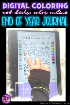 Are you looking for something inspirational that will support your students with their mental well-being that can be completed online with no resources required whatsoever? Then look no further than these brand new style of Online Digital Colouring Page Decks: End of the Year Journal #digitalcoloring #endoftheyear #onlinecoloring #mindfulness #sel Quote Coloring Pages, Colouring Pages, Teacher Resources, Teaching Ideas, Mindfulness Colouring, End Of Year Activities, Being Used Quotes, Mental Health And Wellbeing, Technology Integration