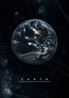 Spaceland | bestof-society6: ART PRINTS BY ALEXANDER...