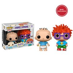 From Rugrats, Its Tommy and Chucky in Funko Pop Vinyl! Pop Vinyl Figures, Chuckie Rugrats, Rugrats Cartoon, Funko Pop Dolls, Pop Figurine, Funk Pop, Funko Figures, Disney Pop, Pop Toys