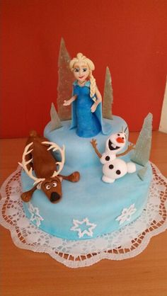 Torte Eiskönigin