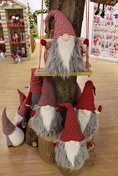 Our lovely cuddly Gonks! Our lovely cuddly Gonks! - Alexandra Wolfsdorf - Our lovely cuddly Gonks! Our lovely cuddly Gonks! Our lovely cuddly Gonks! Our lovely cuddly Gonks! Swedish Christmas, Christmas Gnome, Scandinavian Christmas, Christmas Projects, Holiday Crafts, Christmas Holidays, Gnome Ornaments, Christmas Ornaments, Christmas Stockings