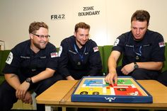 HMS Queen Elizabeth, May 2017. Playing Uckers in the mess