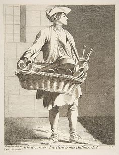 Anne Claude Philippe de Tubières, comte de Caylus   Cookware Peddler   The Met