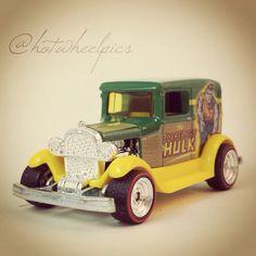 """The Incredible Hulk"" A-OK - 2014 Hot Wheels ""Marvel - Pop Culture"" #hotwheels | #toys | #diecast | #Ford"