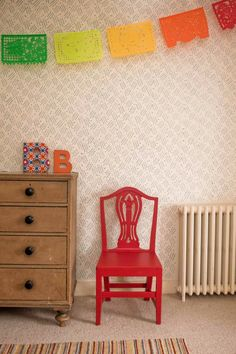 The Painted House - Porch - wallpaper alternatives