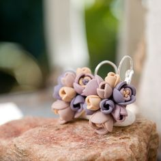 polymer clay flowers by ketlin