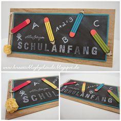 .    Kreativ Blog by Claudi: zum Schulanfang
