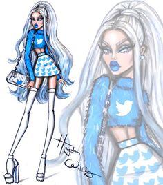 'Social Media Divas' by Hayden Williams - Twitter