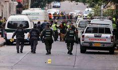 Atentado contra estación de policía en Colombia deja tres muertos y 30 heridos