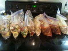 Live, Love, Eat.: Freezer to Crockpot Meals Part II