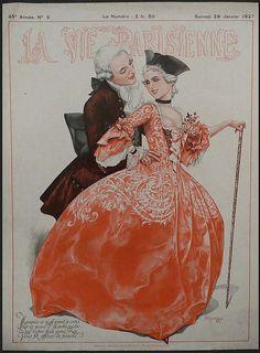 Lvp Cover 1927 January Vintage Posters Art Deco Prints