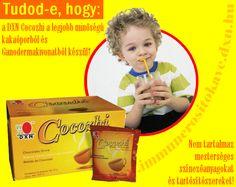 DXN Cocozhi a ganodermás kakaó gyermekeknek http://www.immunerositokave.dxn.hu