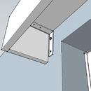 Instructions on HANGING pelmets or cornices over windows