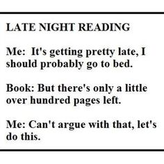 This was me last night with fan girl and last week with Eleanor and Park and next week with apollos trail
