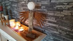 Engel aus Treibholz