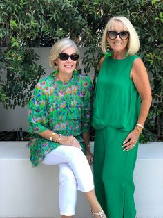 Best Outfits For Women Over 50 - Fashion Trends Over 60 Fashion, Mature Fashion, Older Women Fashion, Over 50 Womens Fashion, 50 Fashion, Fashion Outfits, Casual Outfits, Summer Outfits, Cute Outfits