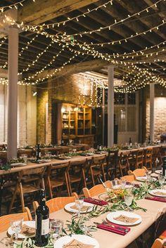 Cosy Seasonal Brixton East Warehouse Wedding