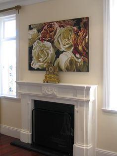 Art of the fireplace /Simon Barlow, artist Diane Watson