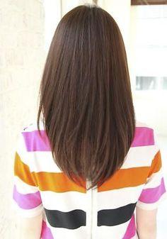 うるつやストレート   HOULe(ウル)のヘアスタイル・髪型 - 美美美コム