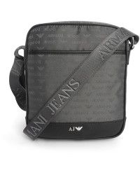 c5e7af2f626 Armani Jeans   Grey Aj Logo Bag   Lyst Aj Logo, Armani Jeans Bags,