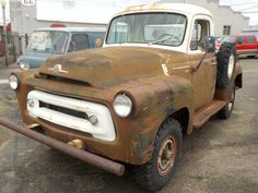 4X4 Project: 1957 International S-120 Pickup - http://barnfinds.com/4x4-project-1957-international-s-120-pickup/