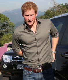 Prince Harry arrives in the scenic surroundings of Atlantic Rainforest to plant a tree as he visits Cota 200, 25.06.2014 in Cota Dos Ventos, Brazil.