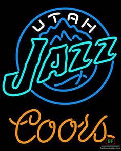 Coors Light Utah Jazz Neon Sign NBA Teams Neon Light