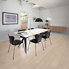 Kahrs Harmony and Tropical Engineered Oak Hardwood Flooring in Granite