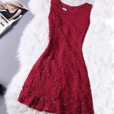 Cute grey A-line lace short prom dress,homecoming dress,party dress from Little Cute Dark Red Dresses, Sexy Dresses, Cute Dresses, Formal Dresses, Beautiful Dresses, Cocktail Rose, Snowflake Dress, Teenage Girl Outfits, Dress Images