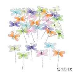 Dragonflies - OrientalTrading.com