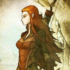 Elven archer [ranger, elf]