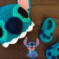 I decided he needed teeth.   #MakersGonnaMake #mompreneur #MomLife #Cute #Fashion #Accessories #Stitch #liloandstitch #disney