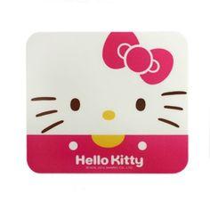 Hello Kitty Face Computer Mouse Pad Laptop Slim Anti-Slip Free Shipping White #HelloKitty