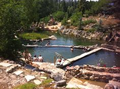 Stawberry park, Colorado - hot springs near Steamboat