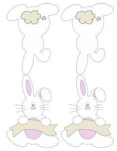 FREE printable Bunny Place cards