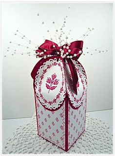 Fancy Gift or Cookie Box