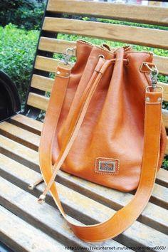 leather bag tutorial