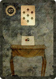 27-Letter Lenormand card - MALPERTUIS LENORMAND